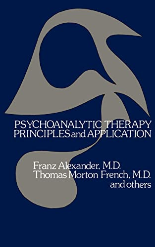 9780803259034: Psychoanalytic Therapy: Principles and Application (Bison Books in Clinical Psychology)