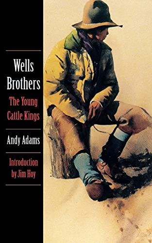 9780803259294: Wells Brothers: The Young Cattle Kings