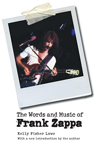 9780803260054: The Words and Music of Frank Zappa