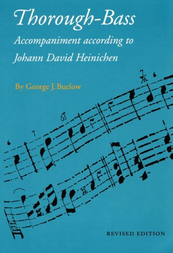 9780803261068: Thorough-bass Accompaniment According to Johann David Heinichen