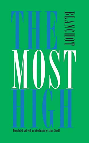 The Most High (French Modernist Library): Maurice Blanchot; Translator-Allan