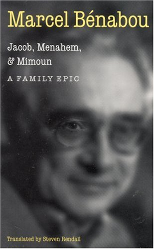 9780803261938: Jacob, Menahem and Mimoun: A Family Epic (Stages Series)
