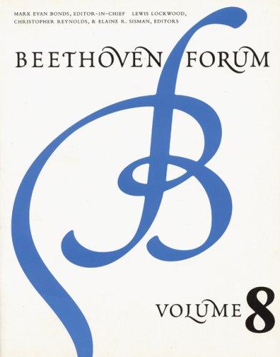 9780803261952: Beethoven Forum, Volume 8