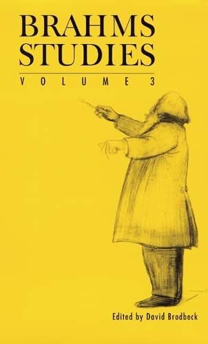 Brahms Studies Volume 3