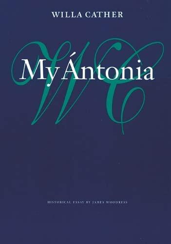 9780803263727: My Ántonia