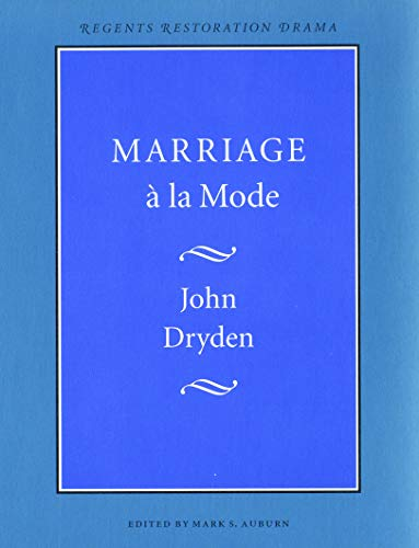 9780803265561: Marriage a LA Mode