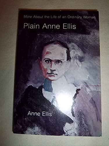 9780803267084: Plain Anne Ellis