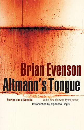 9780803267442: Altmann's Tongue: Stories and a Novella