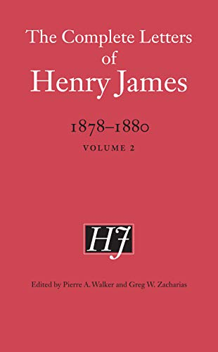 9780803269859: The Complete Letters of Henry James, 1878-1880: Volume 2