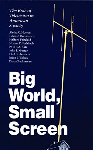 9780803272637: Big World, Small Screen: The Role of Television in American Society (Child, Youth, and Family Services)