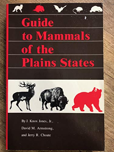 Guide to Mammals of the Plains States: Jones Jr., J.