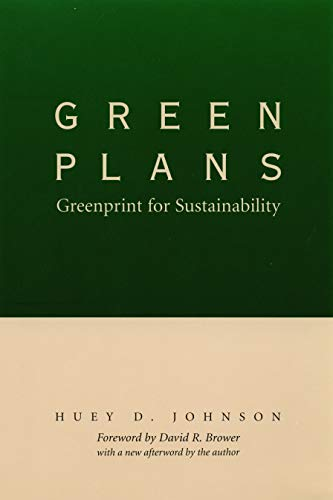Green Plans: Greenprint for Sustainability