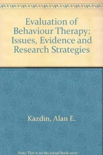 9780803277526: Evaluation of Behavior Therapy: Issues, Evidence, and Research Strategies (Bison books in clinical psychology)