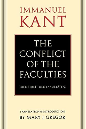 Conflict of the Faculties