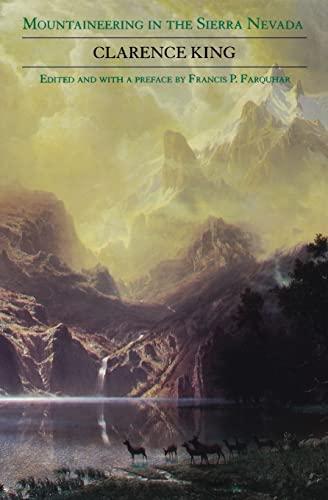 9780803277830: Mountaineering in the Sierra Nevada