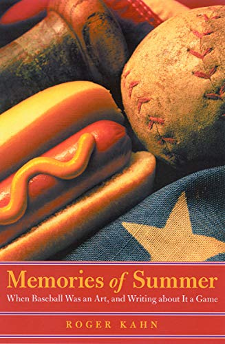 9780803278127: Memories of Summer: When Baseball Was an Art, and Writing about It a Game (Bison Book)