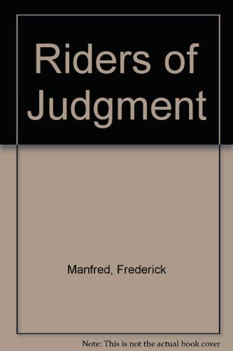 9780803281172: Riders of Judgment