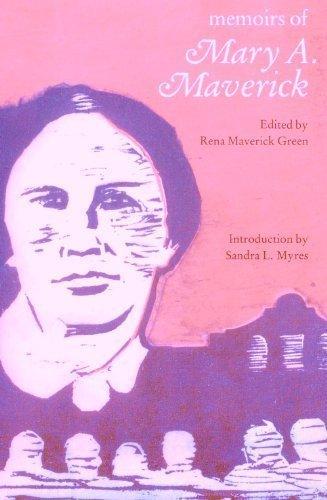 9780803281592: Memoirs of Mary A. Maverick