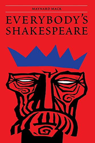 9780803282148: Everybody's Shakespeare: Reflections Chiefly on the Tragedies