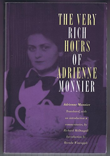 9780803282278: The Very Rich Hours of Adrienne Monnier