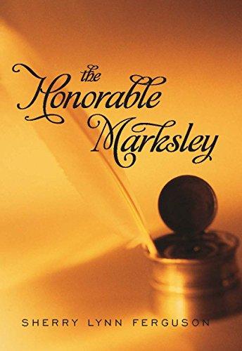 9780803498563: The Honorable Marksley (Avalon Romance)