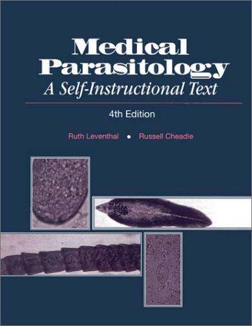 9780803600416: Medical Parasitology: A Self Instructional Text