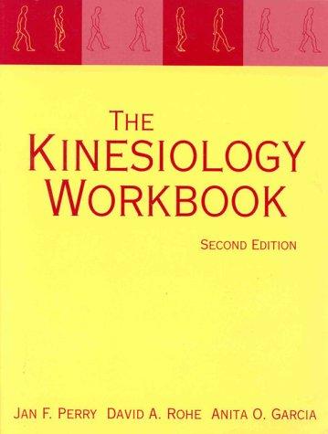 9780803600461: Kinesiology Workbook