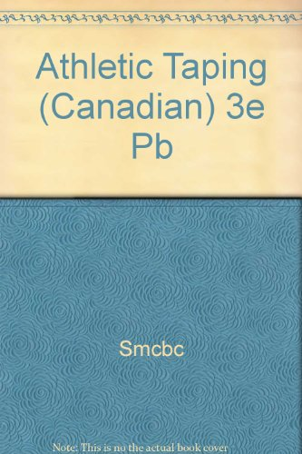 9780803601161: Athletic Taping (Canadian) 3e Pb