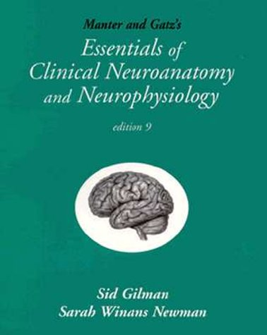 9780803601444: Manter & Gatz's Essentials of Clinical Neuroanatomy and Neurophysiology