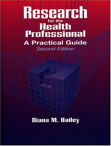 9780803601512: Research for the Health Professional