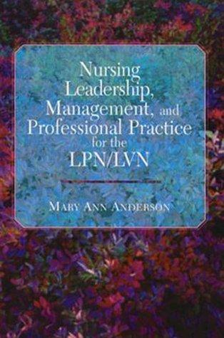 9780803602090: Nursing Leadership, Management, and Professional Practice for the Lpn/Lvn