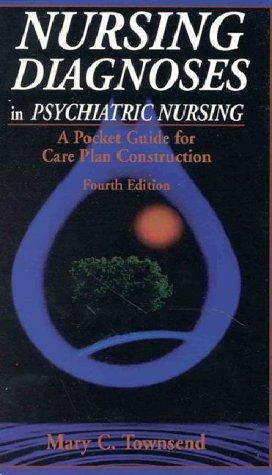 9780803602908: Nursing Diagnoses in Psychiatric Nursing: A Pocket Guide for Care Plan Construction