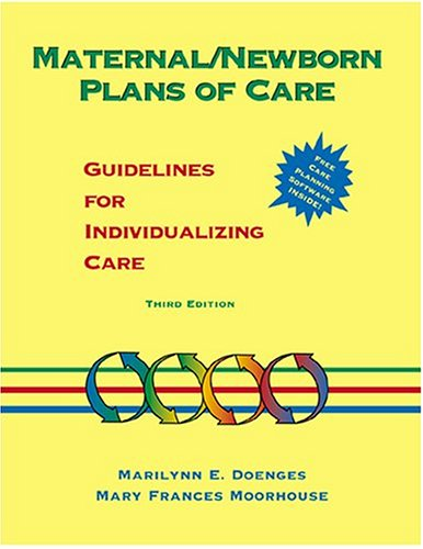 9780803603202: Maternal/Newborn Plans of Care: Guidelines for Individualizing Care (Doenges, Maternal/Newborn Plans of Care)