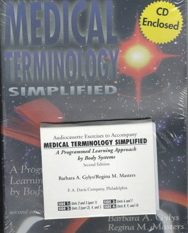 9780803603455: Medical Terminology Simplified (Book and Audiocassette) with CDROM