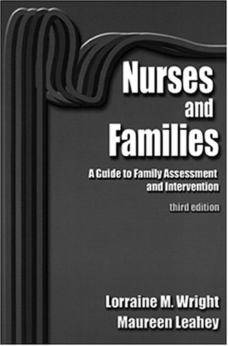 9780803603714: Nurses and Families: A Guide to Family Assessment and Intervention