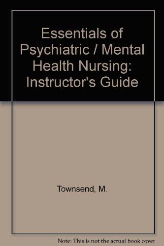 9780803604148: Essentials of Psychiatric/Mental Health Nursing