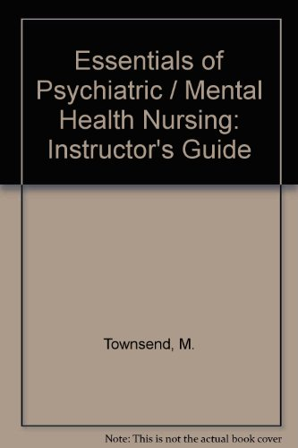 9780803604148 Essentials Of Psychiatric Mental Health Nursing