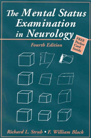 9780803604278: The Mental Status Examination in Neurology