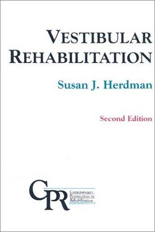 9780803604445: Vestibular Rehabilitation