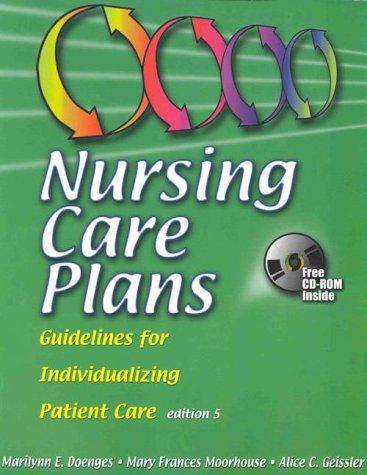 9780803604926: Nursing Care Plans: Guidelines for Individualizing Patient Care (Nursing Care Plans, 5th ed)