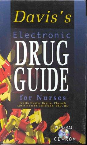 9780803604957: Davis's Electronic Drug Guide for Nurses