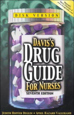 9780803605824: Davis's Drug Guide for Nurses (Book with Diskette for Windows)