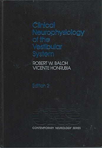9780803605848: Clinical Neurophysiology of the Vestibular System (Contemporary Neurology Series)