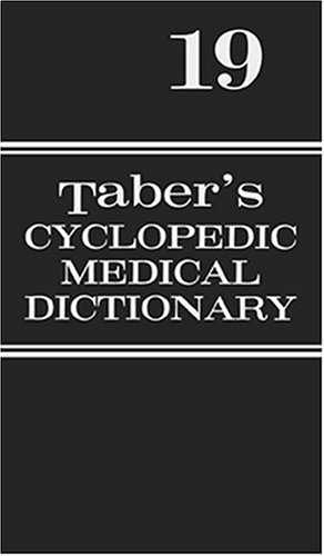 9780803606548: Taber's Cyclopedic Medical Dictionary: Thumb-Indexed Edition
