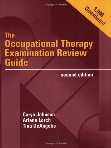 9780803607767: The Occupational Therapy Examination Review Guide