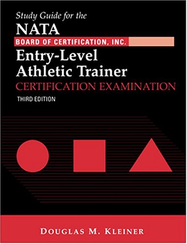 9780803607859: Study Guide for the NATA Board of Certification ...