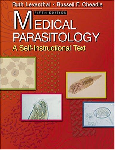 9780803607880: Medical Parasitology: A Self-Instructional Text