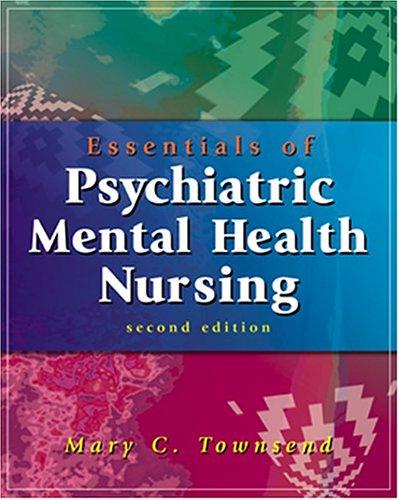 9780803609204: Essentials of Psychiatric/Mental Health Nursing