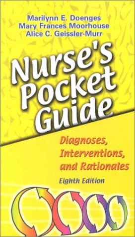 9780803609488: Nurse's Pocket Guide: Diagnoses, Interventions, and Rationales