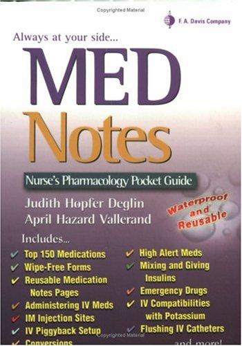 rn notes pocket guide pdf